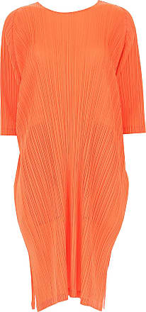 Issey Miyake Dress for Women, Evening Cocktail Party On Sale, Coral, polyester, 2017, Universal size
