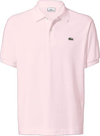 5304f701f7d Lacoste Le polo manches courtes 100% coton Lacoste rose