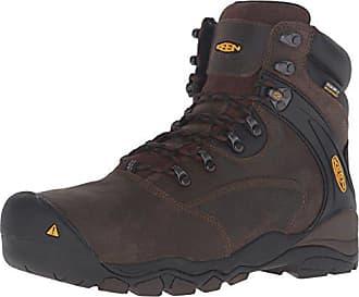 854bd05b6d55f6 Keen Keen Utility Mens Louisville 6 Steel Toe Cascade Brown Boot 10 D (M)