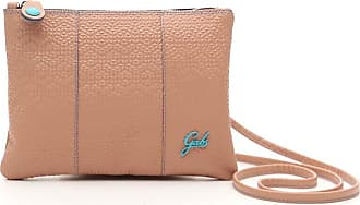 Gabs GABS Beyonce Small Size Nude Leather with Geometric Pattern Front and Smooth Leather Back