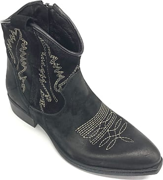 Zoe Art. Newtexric Texan Suede Ankle Boots Heel 30 Black Size: 8.5 UK