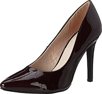 37 Femme WineRed Party Pump 40 EU Bianco Escarpins Bout fermé Glitter Rouge pWvgF