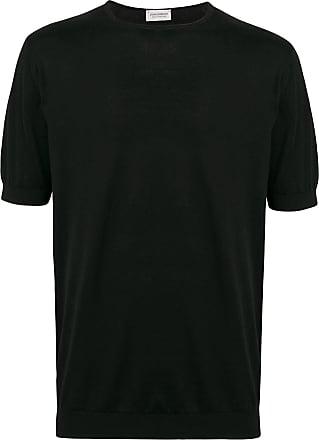 John Smedley Camiseta básica - Preto