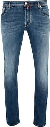Jacob Cohen J 622 Red Badge Jeans mit roter Naht und mittlerer Waschung - UK 38 / EU 54