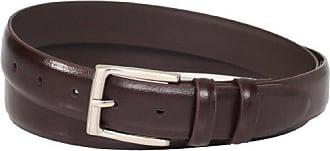 Florsheim Mens Big-Tall Smooth Leather Belt 30MM, Brown 58