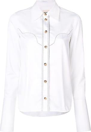 Khaite Camisa com contraste - Branco