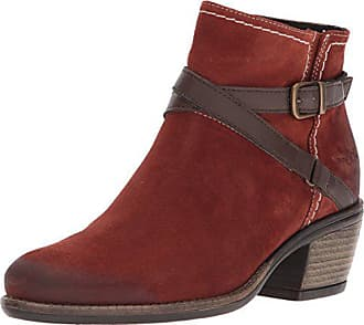 Bos. & Co. Womens Greenville Western Boot, Brick/Nougat Suede/Miami, 39 M EU (8-8.5 US)