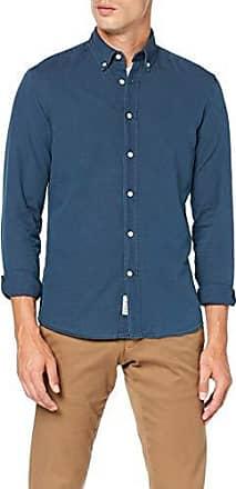 Hackett London Plain Chambray LG Camisa para Hombre