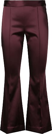 Rosetta Getty cropped flared trousers - Roxo
