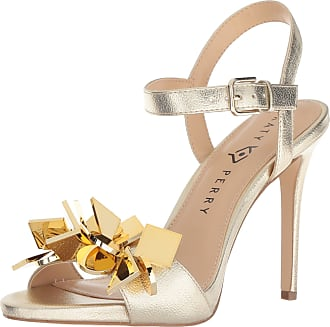 Katy Perry Womens The The Kelsi Heeled Sandal, Champagne, 6.5 M US