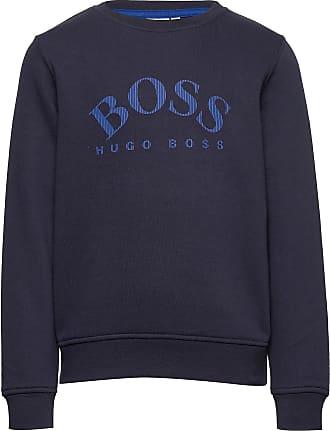 BOSS Sweatshirt Sweat-shirt Tröja Blå BOSS