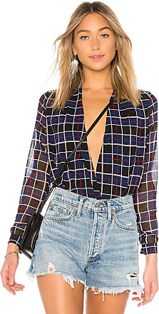 Lovers + Friends Get Down Blouse in Blue