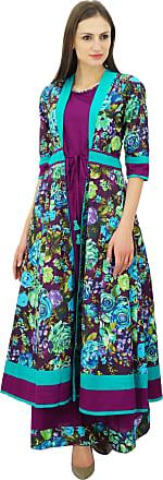 Bimba Kurta Designer Sleevless Kurti Long Party Maxi Dress Boho Chic Clothing