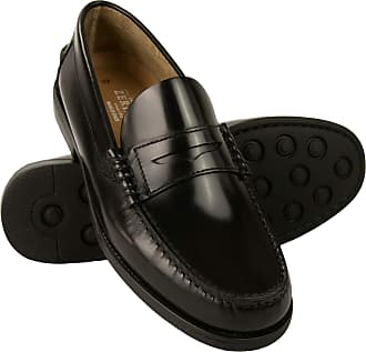 Zerimar Shoes Men | Shoes Men Casual | Shoes whitout Laces | Shoes Men Elegant | Shoes Men Leather | Made in Spain Black