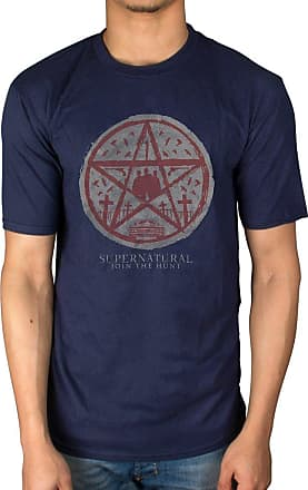 AWDIP Official Supernatural Join The Hunt T-Shirt Navy