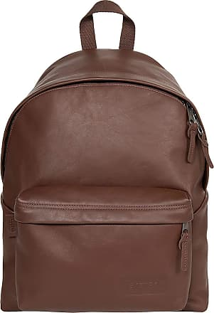 Eastpak Padded PakR Chestnut Leather Backpack EK62069V