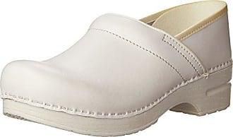 Dansko Womens Professional Box Leather Clog,White,41 EU / 10.5-11 B(M) US