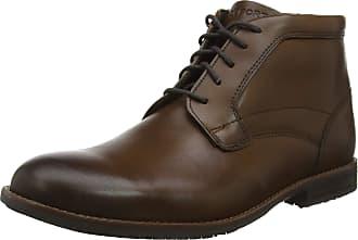 Rockport Mens Dustyn Chukka Boots, Brown (New Caramel), 7 UK (40.5 EU)
