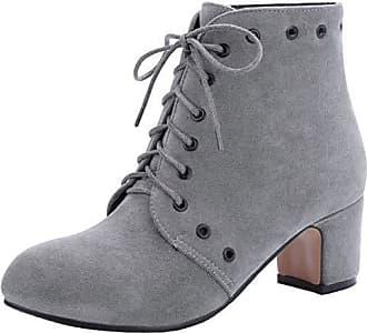 Schnürstiefel für Damen in Grau: Jetzt bis zu −40% | Stylight