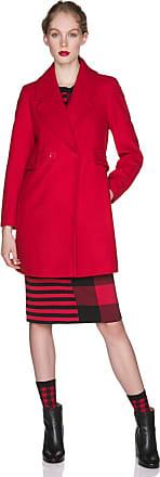 benetton cappotto rosso