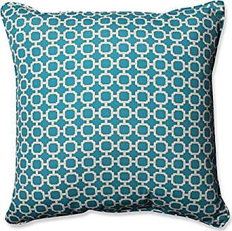 Pillow Perfect Outdoor/Indoor Hockley Teal 25-Inch Floor Pillow