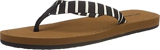 O'Neill Womens Fw Woven Strap Sandals Shoes & Bags, (Black AOP W/White 1 9911), 4 UK