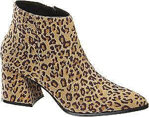 e91d371d3ca Vero Moda Leopard Enkellaars Gespitste Neus Dames (maat 36)