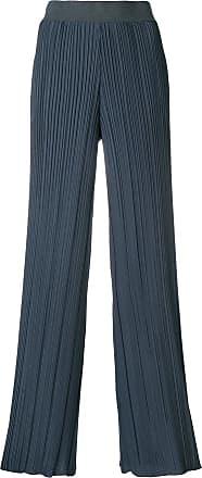 Fabiana Filippi pleated palazzo trousers - Blue