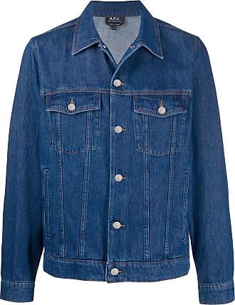 A.P.C. buttoned denim jacket - Azul