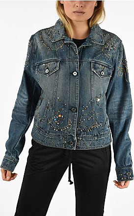 Just Cavalli Denim Studs Jacket size 40