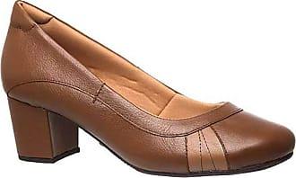 Doctor Shoes Antistaffa Sapato Feminino 279 em Couro Capuccino/Doce de Leite Doctor Shoes-Capuccino-40