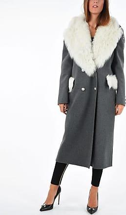 Ermanno Scervino Coat with Real Fur Details size 42