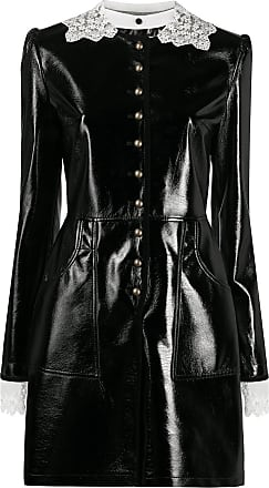 Philosophy di Lorenzo Serafini polished-effect mini dress - Black