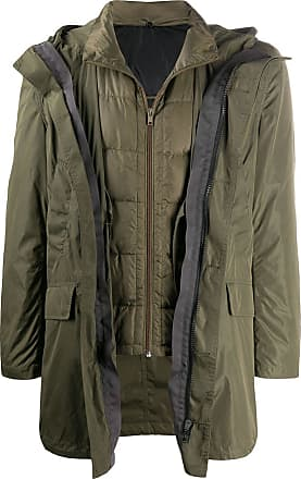 Yves Salomon - Army two in one jacket - Green