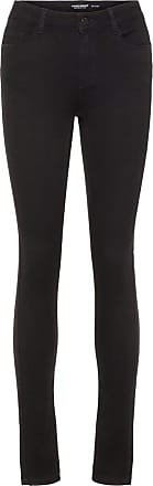 Vero Moda Womens Vmseven Nw S Shape Up Jeans Vi506 Noos Slim Slim Jeans, Black, XS/L30