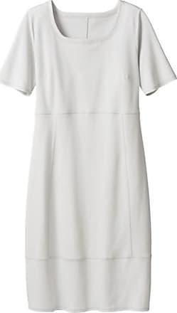 Enna Jerseykleid mit Karree-Ausschnitt aus Bio-Baumwolle, quarz