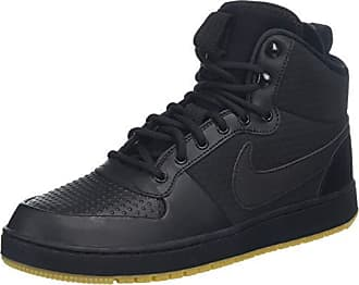 new style fe968 063d1 Nike Ebernon Mid Winter, Sneaker a Collo Alto Uomo, Nero Black-Gum Light