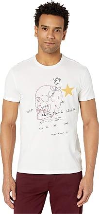 John Varvatos Star USA Men/'s Short Sleeve Liberty Skull Graphic T-Shirt Black