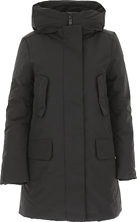 Save The Duck Womens Coat On Sale, Black, polyester, 2017, 1 (S - 40/42)