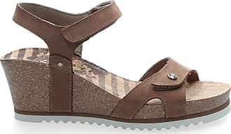 39dbd7392b5f5e Panama Jack Womens Julia Sailor B1 Open Toe Sandals Brown Size  4 UK