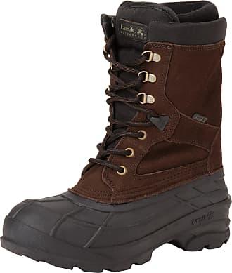 kamik Mens NATIONPLUS Ankle Boots, Braun (DBR-Dark Brown), 13 UK (47 EU) 14US