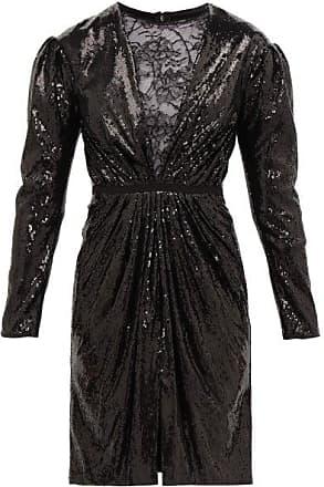 Giambattista Valli Lace And Sequin Mini Dress - Womens - Black