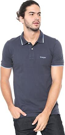 Wrangler Camisa Polo Wrangler Logo Azul-marinho