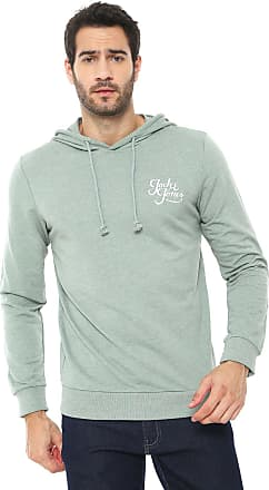 Jack & Jones Moletom Fechado Jack & Jones Logo Verde