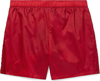 Acne Studios Warrick Mid-length Swim Shorts - Red