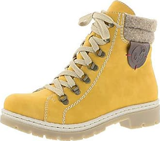 RIEKER DAMEN BOOTS Grau Winter Leder Schuhe gefüttert Tex Membran M6140 45 NEU