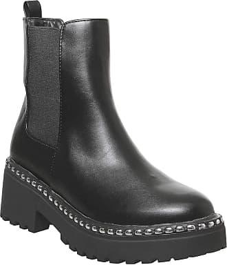 Office Anvil- Chunky Chelsea Boot Black - 7 UK