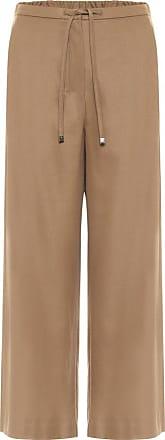 Max Mara Floria high-rise stretch-wool pants