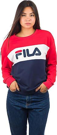 Fila Leah Crew Sweater br wht