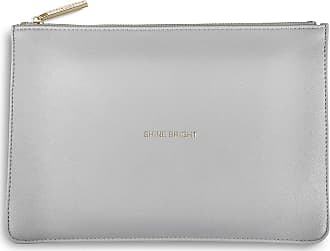 Katie Loxton The Perfect Pouch - Shine Bright - Pale Grey